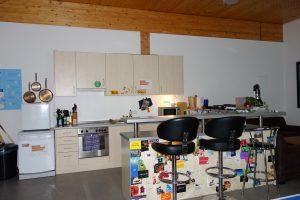 Küchen & Tresenbereich im Saal