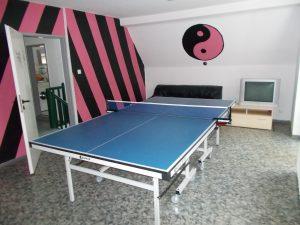 Tischtennisplatte im 1.OG